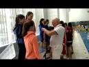 Награждение девочки Соревнования по плаванию Олимпийские надежды