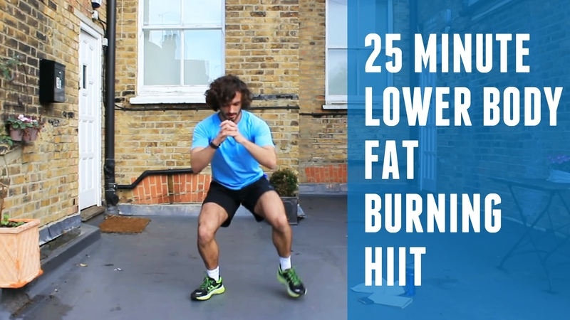 Fat Burning HIIT Lower Body Workout | The Body Coach