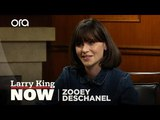 Why Zooey Deschanel wants you to eat local produce