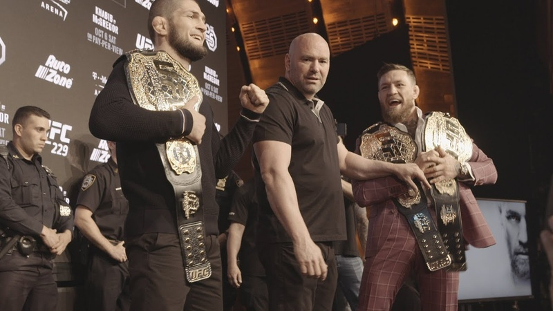 (All-Access) Anatomy of UFC 229 Khabib vs McGregor Press Conference