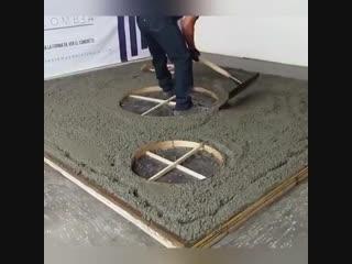Превосходная работа с бетоном