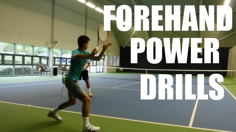 Forehand Power Drills Return Practice