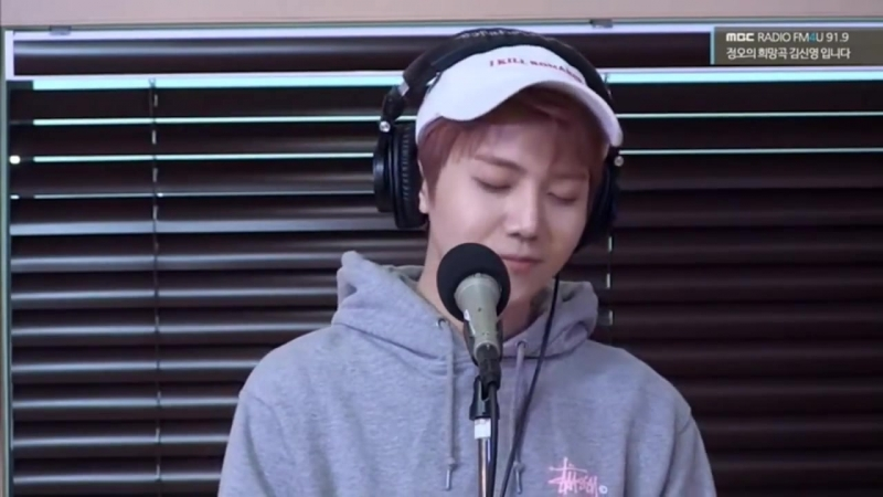 180503 Jinho, Edawn, Wooseok Eric, Kevin, New ( The Boyz) @ Jung Oh's Hope Song Radio