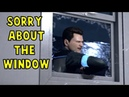 Connor Apologizes to Hank About the Broken Window Detroit Become Human
