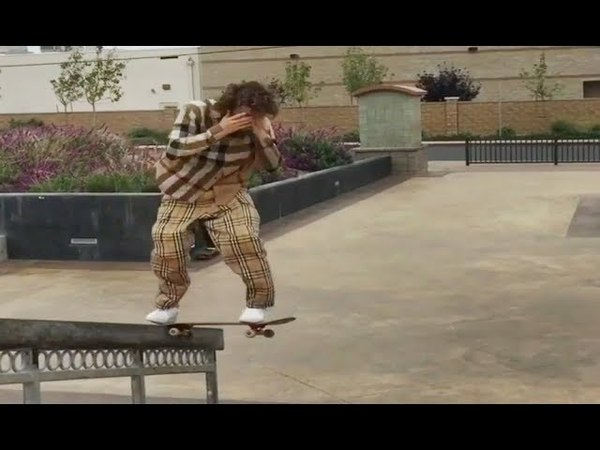 INSTABLAST NO LOOK BS TAILSLIDE HANDRAIL Bs 360 Late Back Foot Flip HUGE Wood Rail Battle