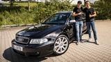WOLF IM SCHAFSPELZ! Audi RS4 B5 mit Bewerber Nic Daniel Abt