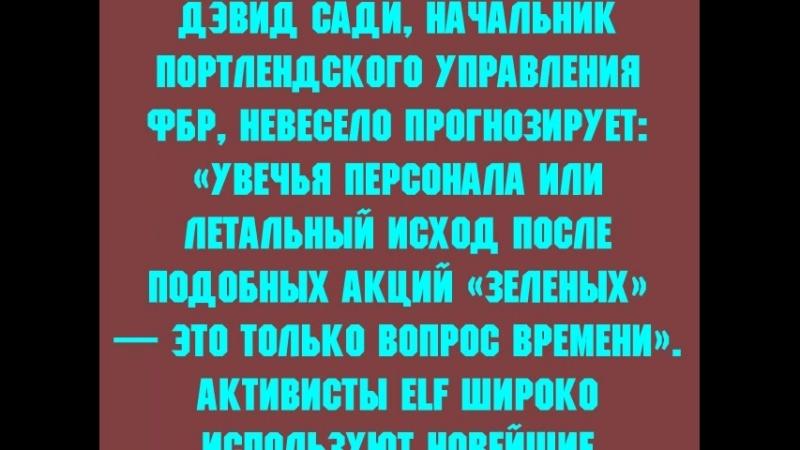 ТЕРРОРИЗМ №2 (видеоролик для передачи ДОЛОЙ ЭКОЛОХИЧЕСКУЮ ПРОПАГАНДУ! на СРПТВ)