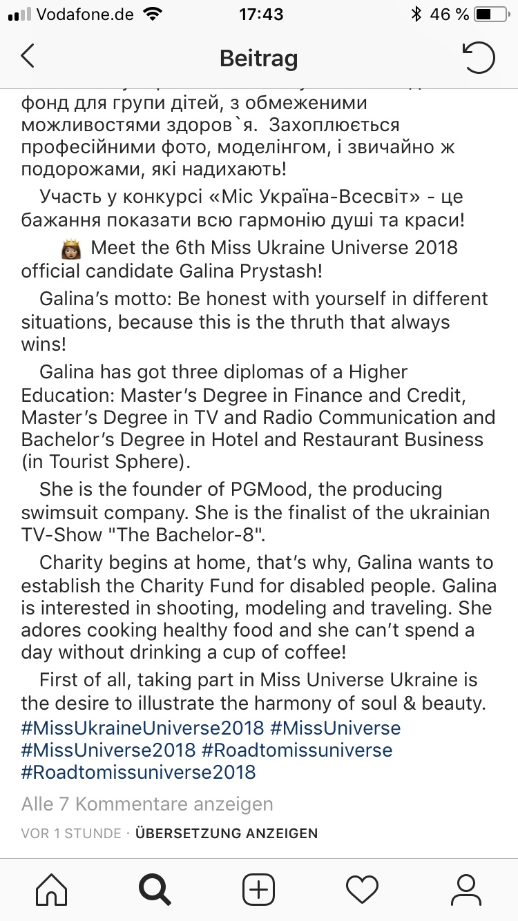 Rozhden Anusi - Galina Prystash - Bachelor Ukraine - Updates - Discussion  - Page 7 V0canBlU11w