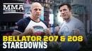 Bellator 207, 208 Workout Staredowns - MMA Fighting