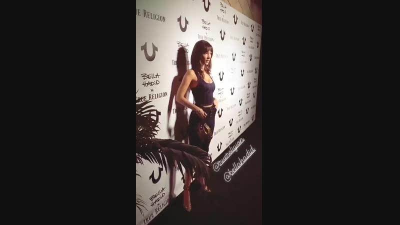 Вечеринка бренда «True Religion», Лос-Анджелес (18.10.18)