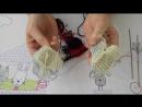 Как связать ПИНЕТКИ БОТИНОЧКИ на спицах для куклы Беби Бон
