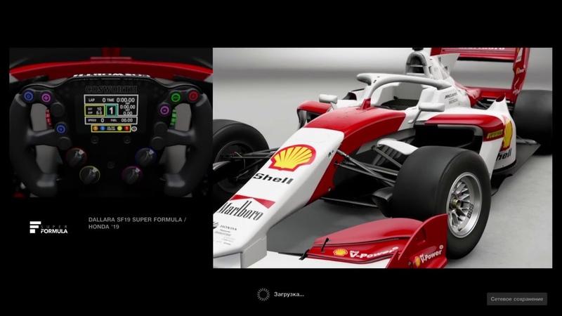 GT SPORT - SF19 Super Formula Honda - Monza - Time Attack Setup