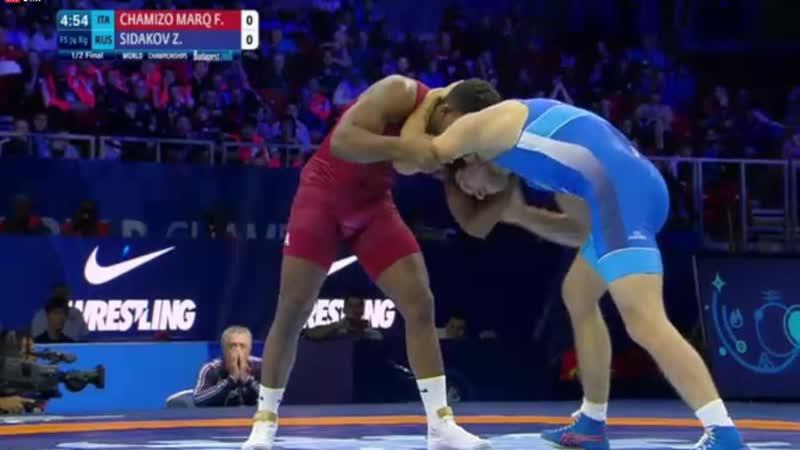 Frank CHAMIZO MARQUEZ ITA vs Zaurbek SIDAKOV RUS