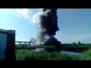 В Житковичском районе взорвали аварийный мост
