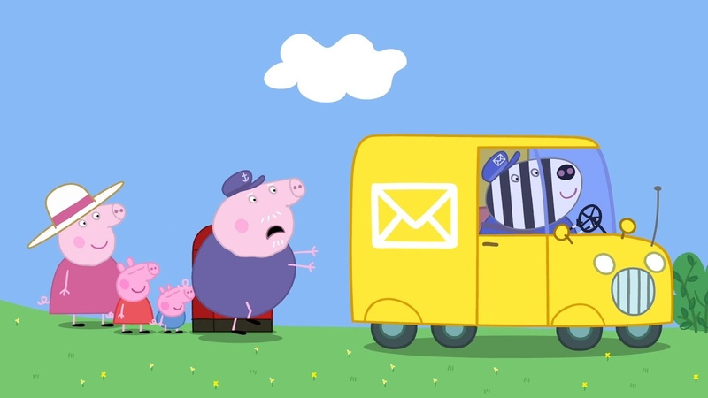 Peppa Pig Full Episodes - Stamps - Cartoons for Children