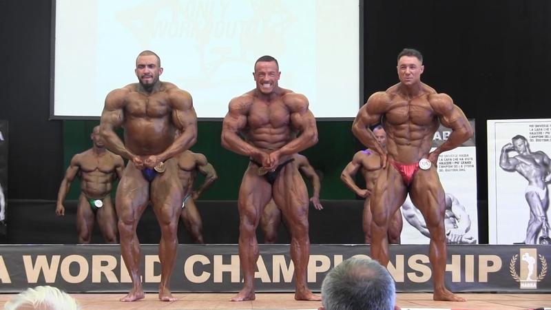 NABBA World 2018, Men 3 - Comparison 1