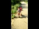 Илюша покорил велосипед