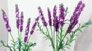 Мастер класс авторский Лаванда из бисера Часть 1 Соцветия Бисероплетение. Beaded lavender tutorial