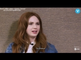 Karen Gillan Weighs In On the Age-Old Question Who's the Hottest Friend rus sub