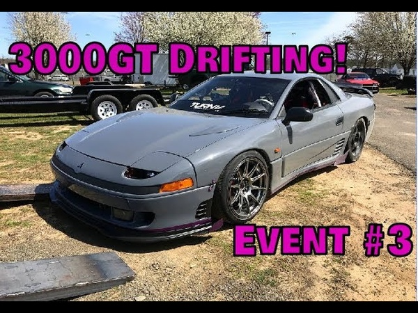 3000GT Drift Event 3 Its finally starting to click!