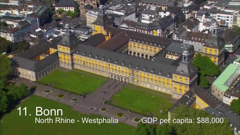Richest Cities in Germany - Deutschlands Power-Städte
