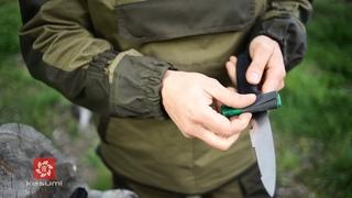 Правка и заточка ножей в полевых условиях