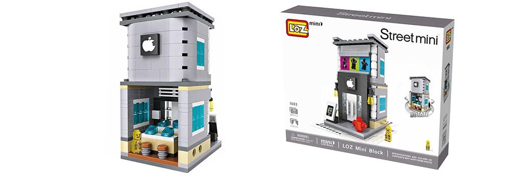 """Конструктор LOZ Street Mini """"Магазин Apple store"""" 1603"""