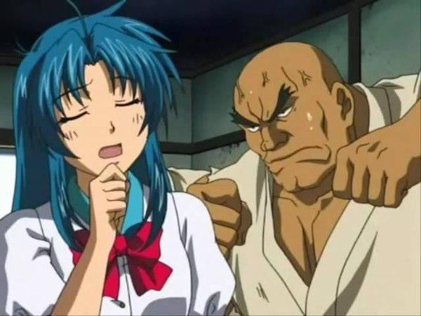 Sousuke sagara vs karate triplets