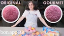 Pastry Chef Attempts to Make Gourmet Sno Balls | Gourmet Makes | Bon Appétit
