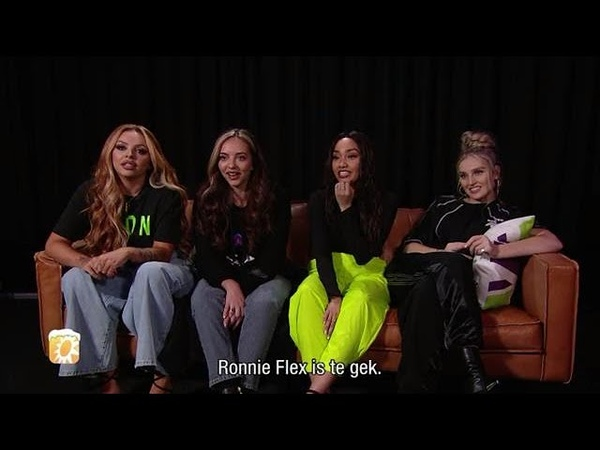 Little Mix groot fan van Ronnie Flex RTL BOULEVARD ZATERDAG ZONDAG