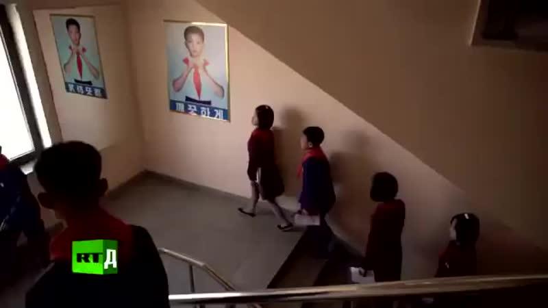 Любимый и уважаемый руководитель товарищ Ким Чен Ын посетил школу