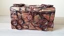 Kartondan Metalik Kutu Yapımı - Geri dönüşüm - Steampunk box