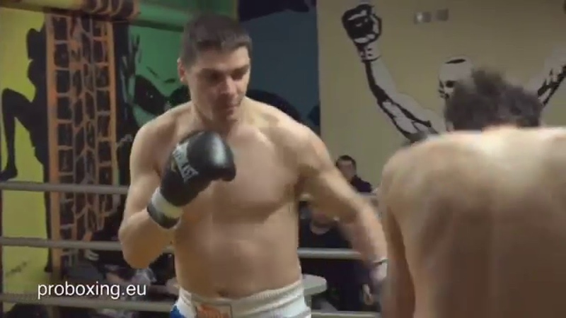 24.01.2016 Andrejs Zozuļa VS Aleksandrs Tomadze Real Boxing Show