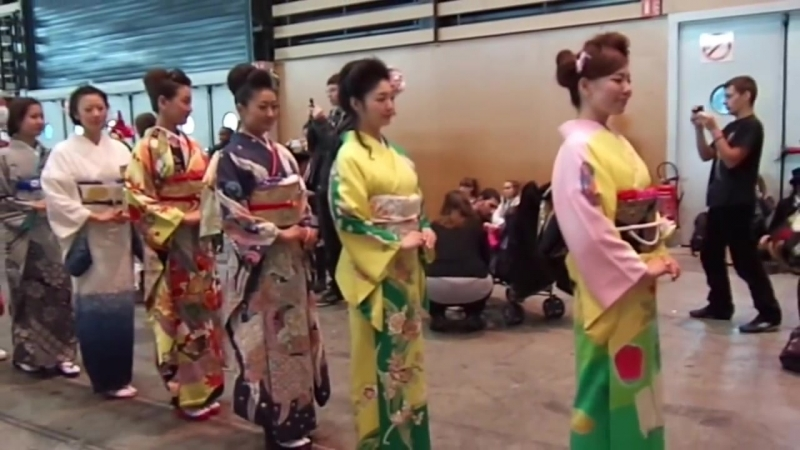 MISS JAPON KIMONO SHOW - Japan Touch - Part1