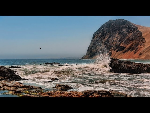 Музыка океана. Mejores playas al sur de Lima 4. Южные пляжи Лимы 4.