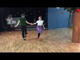 Занятие 15.04.2019 charleston variation (savoy kicks)