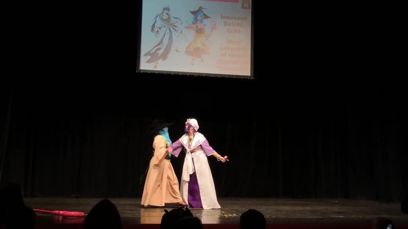 КОМАНДНОЕ ДЕФИЛЕ Magi Labyrinth of magic Sinbad and Yamuraiha Innocent Deichi Guts Тогучи 2019