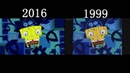 Spongebob Squarepants Opening Side By Side Comparison