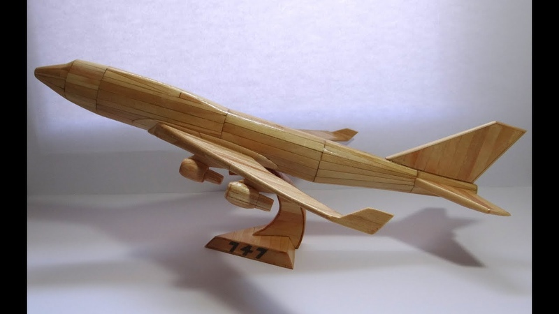 Boeing 747 Com Palitos - Boeing With Popsicle Stick