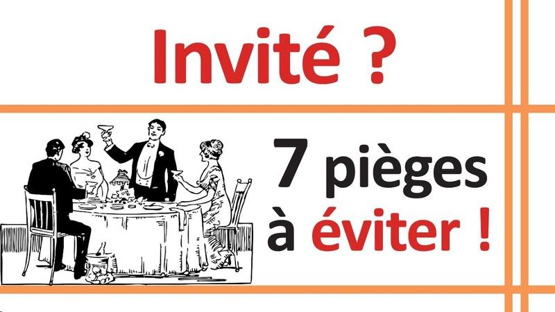 Bonnes manières : 7 erreurs à éviter lorsqu'on est invité !
