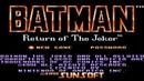 Batman: Return of the Joker (прохождение без комментариев)