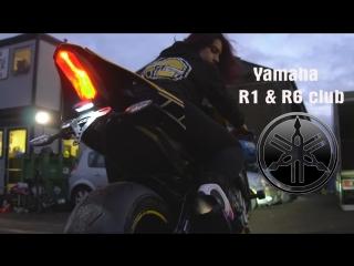 2016 Yamaha R1 Austin Racing GPR1 Exhaust And Flames