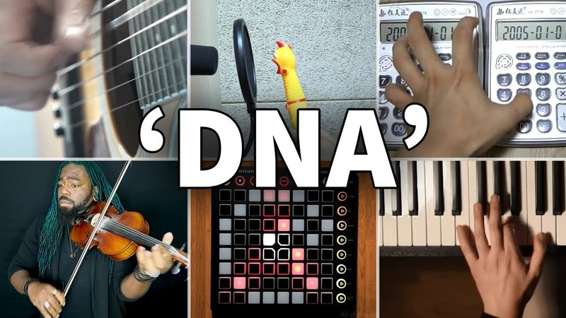 Who Played It Better: BTS (방탄소년단) 'DNA' (Chicken, Calculator, Violin, Guitar, Piano, Launchpad)