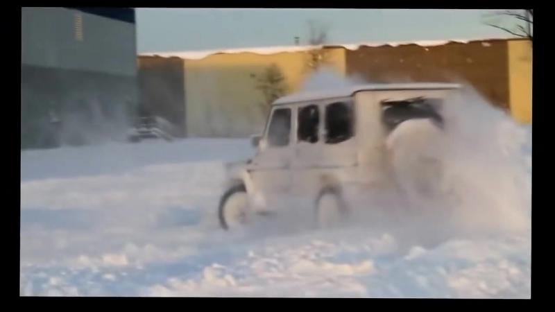 [v-s.mobi]БЕЗУМНЫЙ ДРИФТ НА ГЕЛЕНДВАГЕНЕ! Mercedes G63 AMG