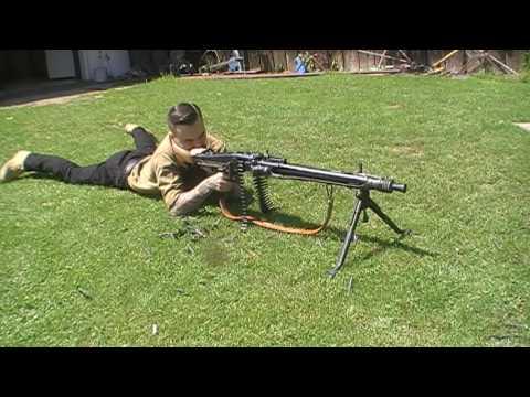 Стрельба из mg42