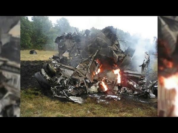 В Нижегородской области разбился истребитель-перехватчик МиГ-31