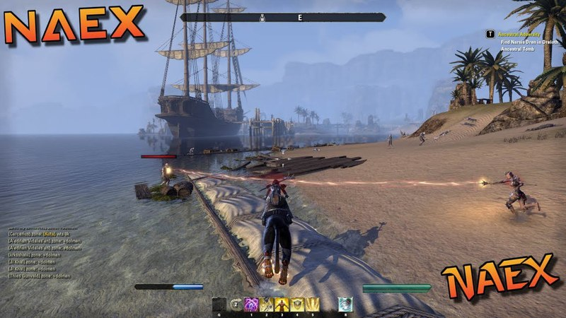 The Elder Scrolls Online: Morrowind - Templar CP 743-744 - Farming XP On Zombies