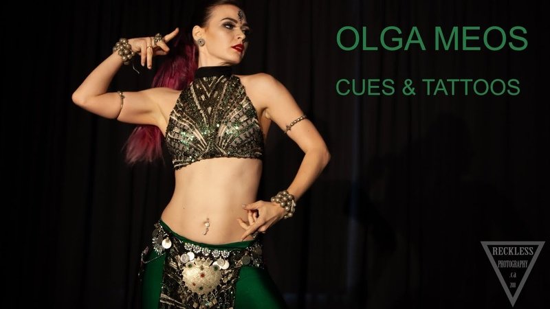 OLGA MEOS Tribal Fusion Solo Cues Tattoos Friday Show 2018