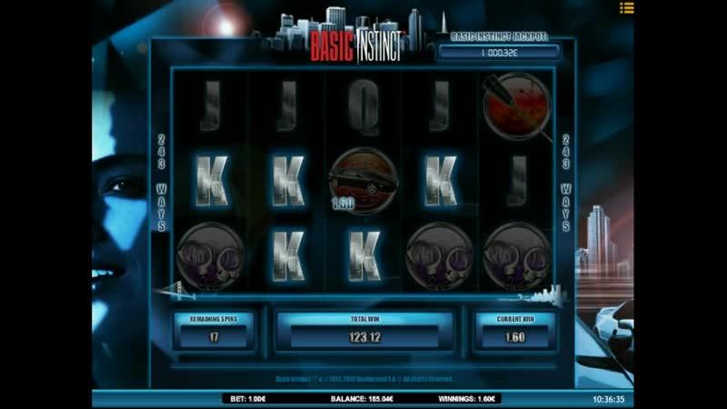 Basic Instinct video slot Real Money game session 025