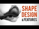 Drawing Like a Professional Shape Design and Facial Features